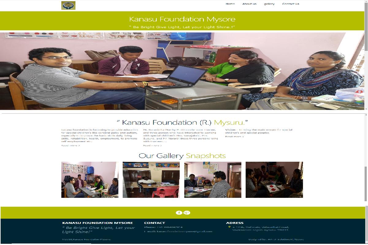 web development,ark it solutions,Mysore